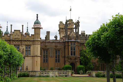 Magiczny Knebworth House and Garden
