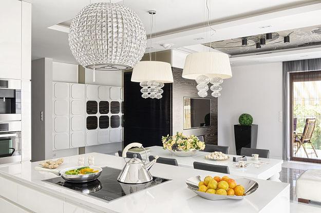 Kuchnia, jadalnia i salon to otwarta przestrzeń  Świat   -> Otwarta Kuchnia Jadalnia Salon