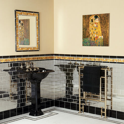 Umywalka z kolekcji Drift Simply Black marki Imperial Bathroom