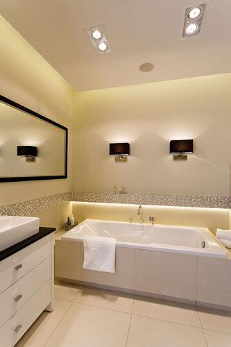Główną Atrakcją łazienki Pani Domu Są Czarne Kinkiety Prod